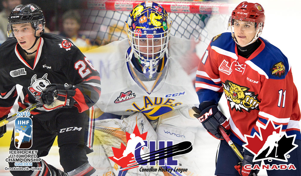 21 Chl Players Named To Canada S National Under 18 Team Chl