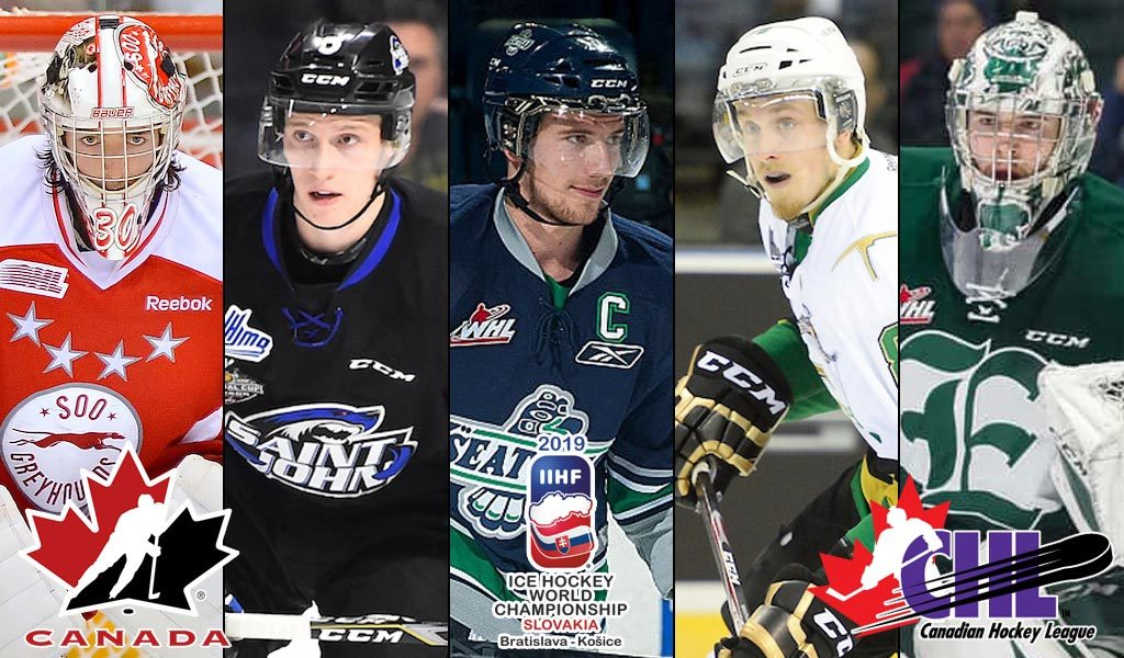19 Chl Grads To Represent Canada At 2019 Iihf World Hockey