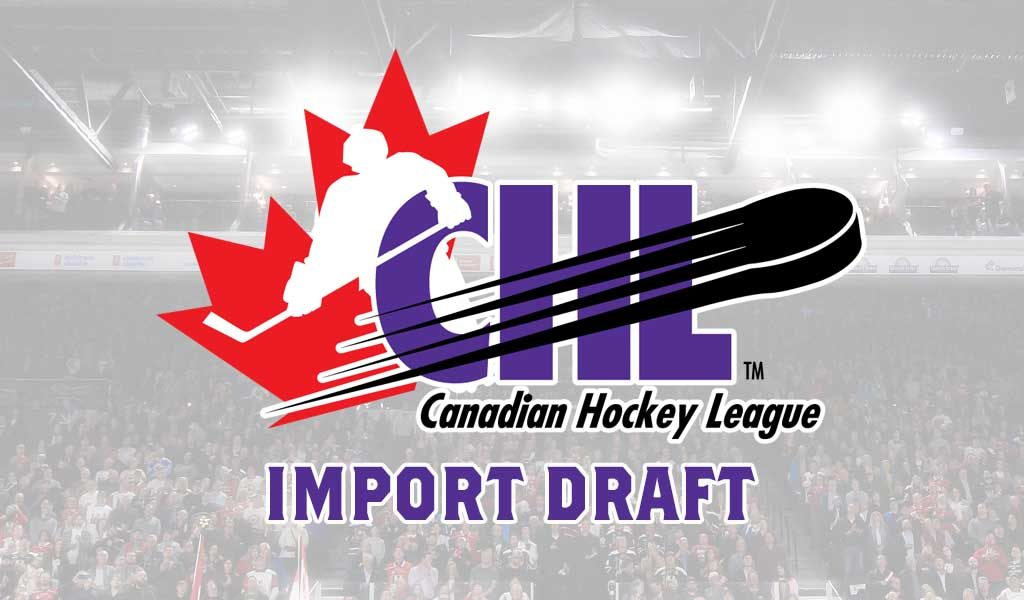 2019 CHL Import Draft Results – CHL