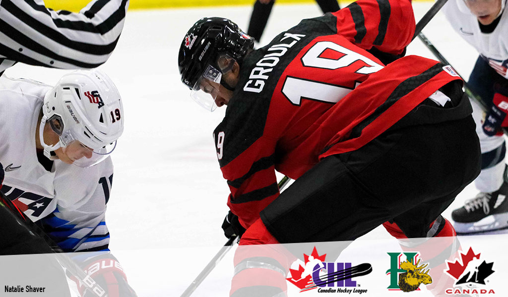 buy online c797d 58c14 Mooseheads' Groulx back on big stage at World Junior camp – CHL