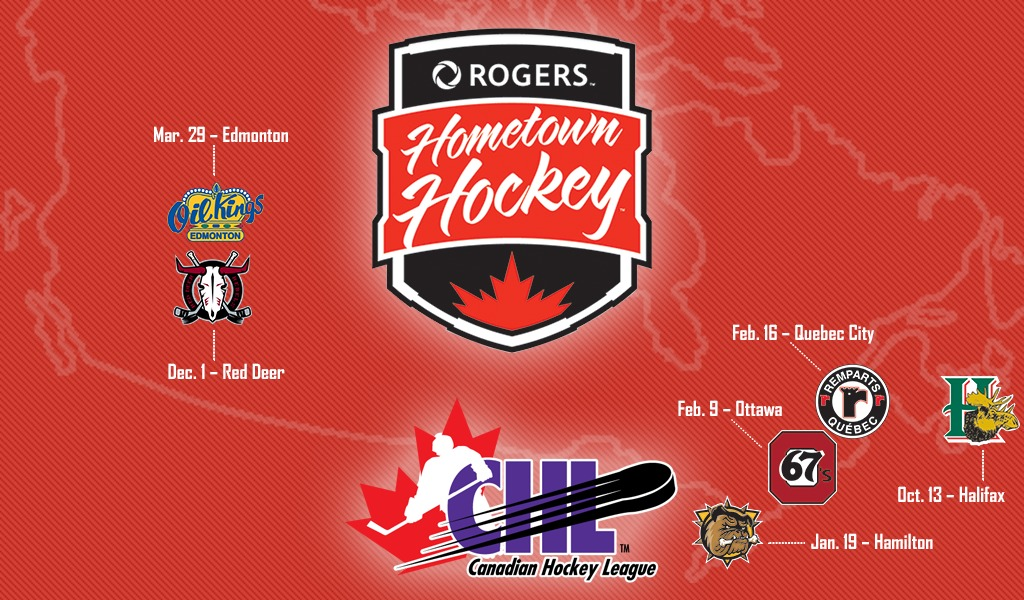 Rogers Hometown Hockey Embarks on Sixth Canada-Wide Tour – CHL