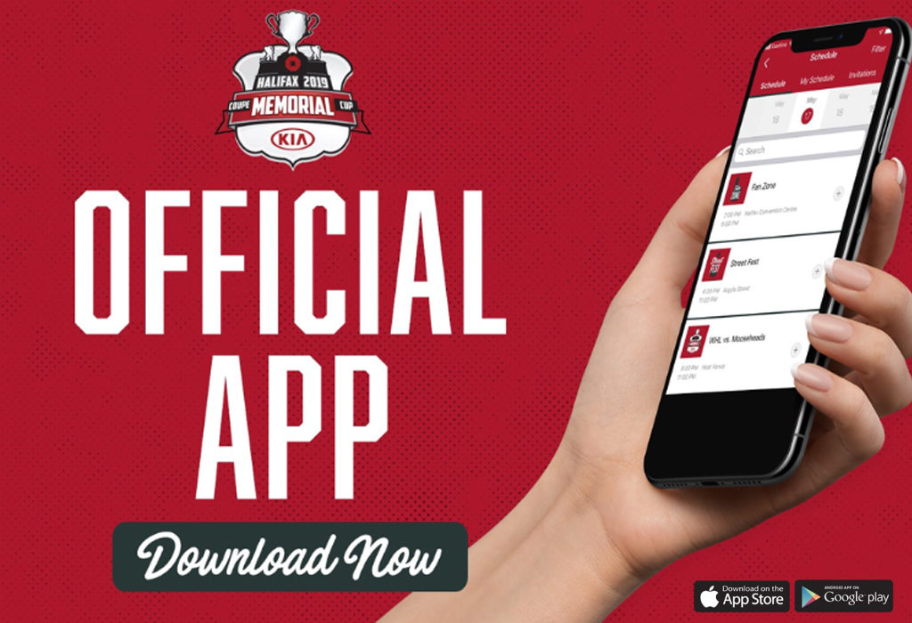 2019 Memorial Cup Presented by Kia App Now Available