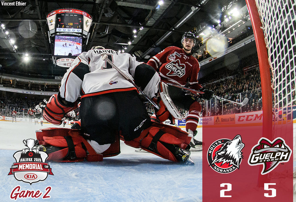 cec4cad42 ... Alexey Toropchenko stayed hot, scoring three times in a first period  span of 8:23 to lift the Guelph Storm to a 5-2 win over the Rouyn-Noranda  Huskies.