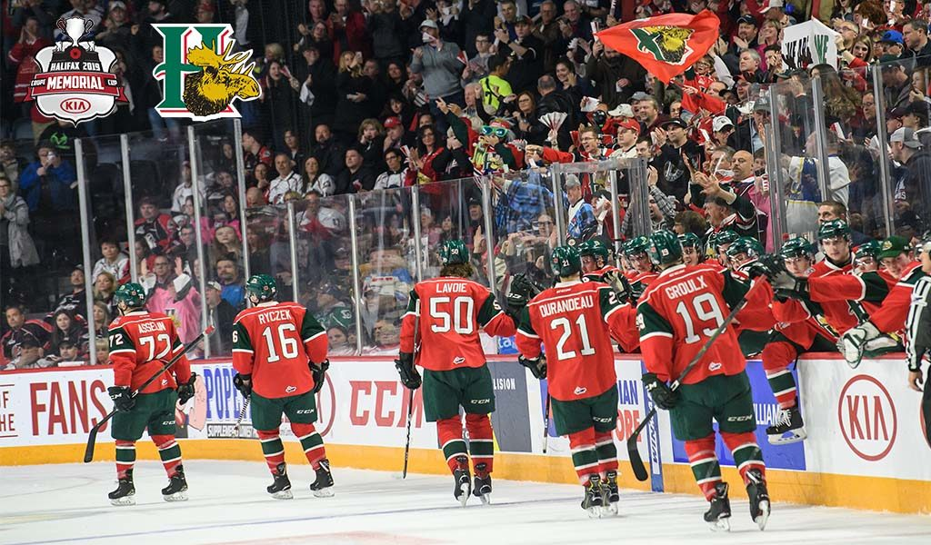 A Season To Remember Mooseheads A Model Franchise On And Off Ice