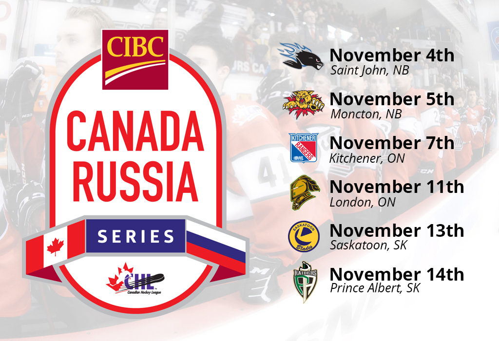 2019 Cibc Canada Russia Series Hosts London Knights