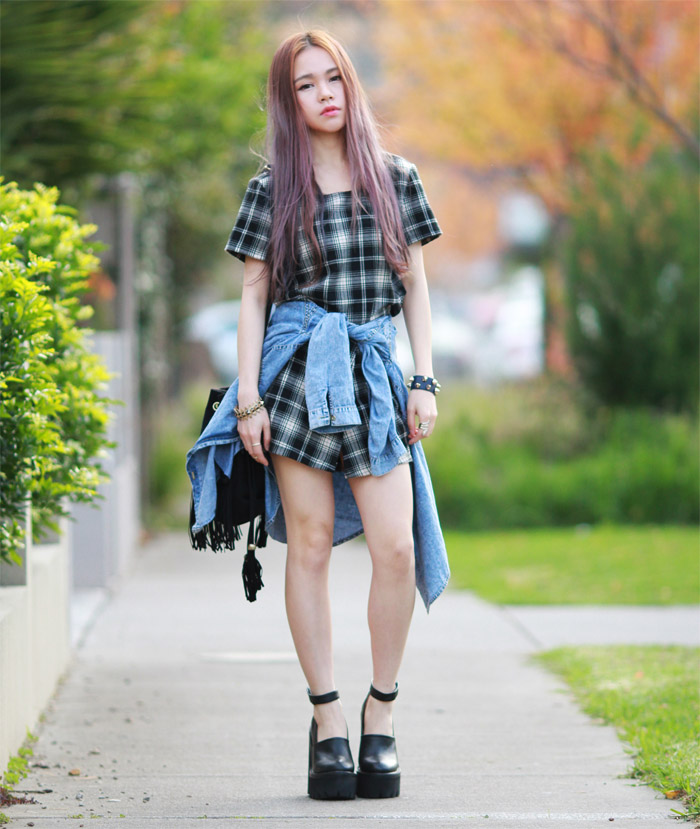 Checkered - Chloe Ting - Melbourne Australia Fashion ...