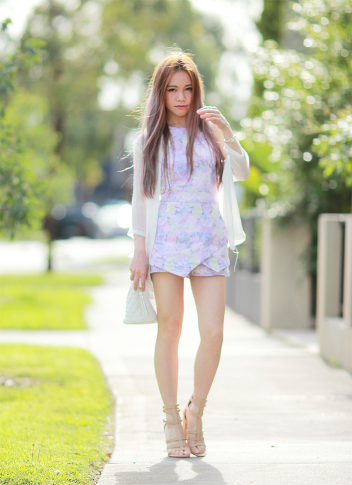 Lilac Playsuit - Chloe Ting - Melbourne Australia Fashion ...