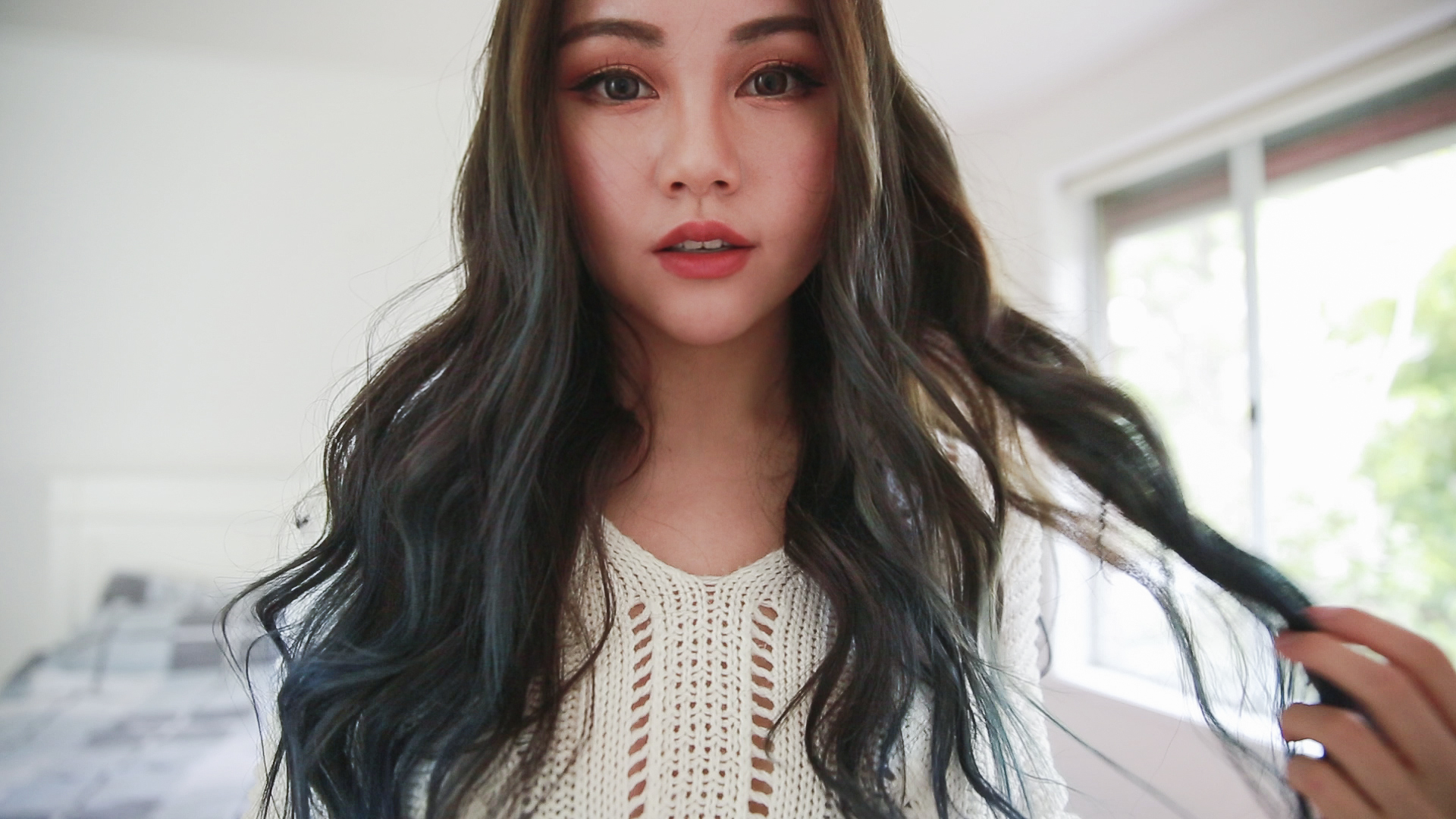 Quick beach waves hair tutorial chloe ting australia blog urmus Images