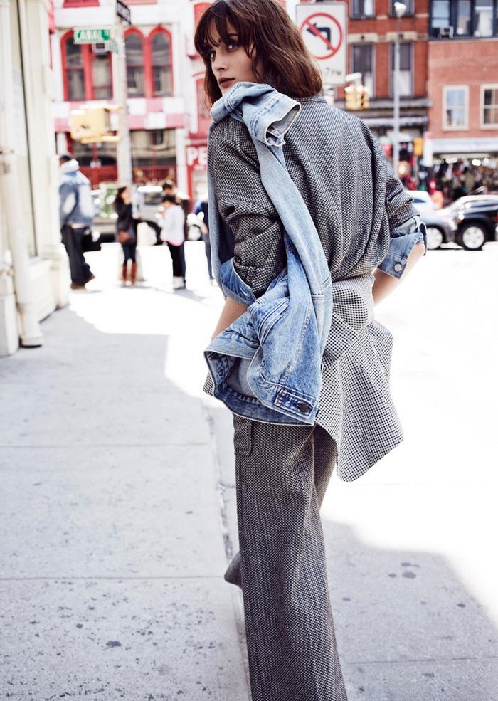 chloeting.com, Layered Denim, Editorial, Fashion