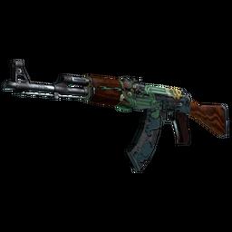 Win StatTrak™ AK-47   Fire Serpent (Field-Tested)