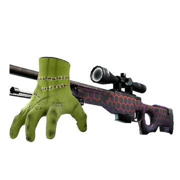 Win Crawling Terror Hand + AWP | Electric Hive (Factory New)