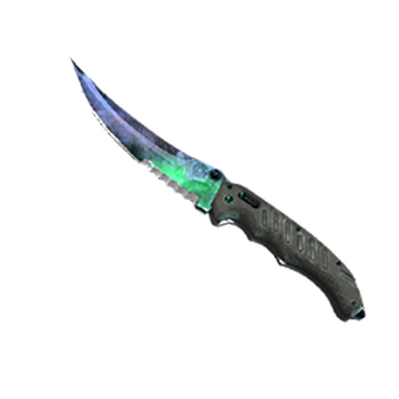 ★ StatTrak™ Flip Knife | Gamma Doppler (Factory New)
