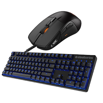 Steelseries Rivel 700 Mouse + Apex M500 Keyboard