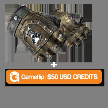 Win Bloodhound Gloves | Bronzed (BS) + $50 Gameflip Credits