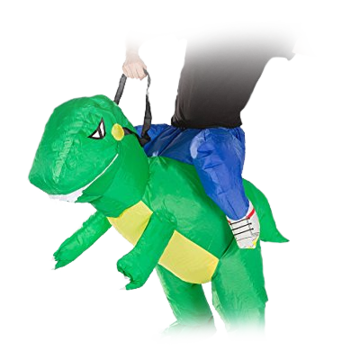 Carry-me Dino Costume