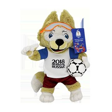 World Cup Mascot Plushie