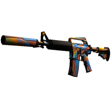 StatTrak™ M4A1-S | Leaded Glass (Factory New)