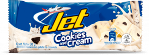 Jet Cookies and Cream 50gr