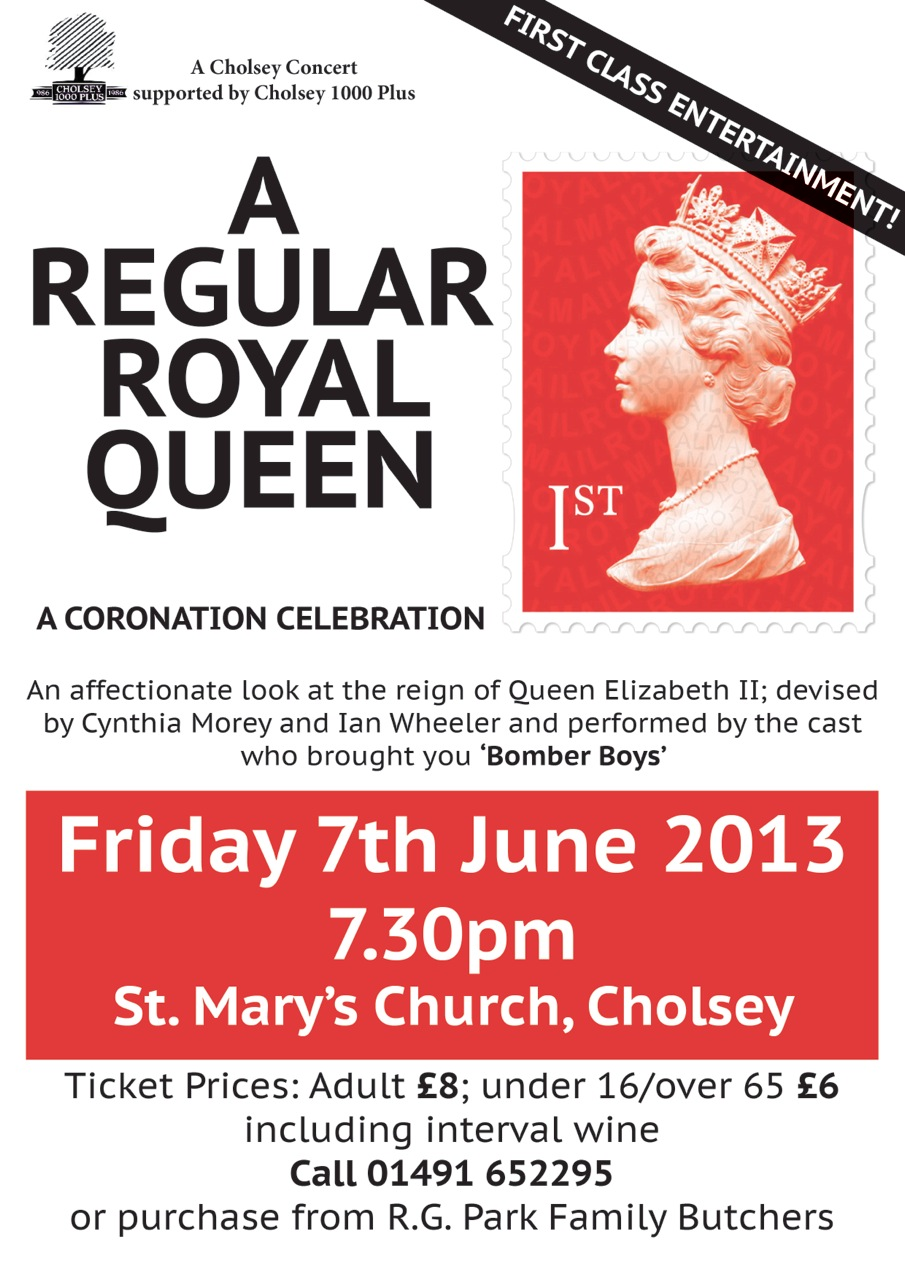 "Poster for ""A Regular Royal Queen"""