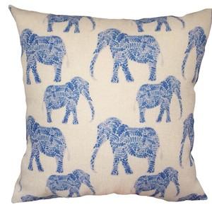 Elefantes azul