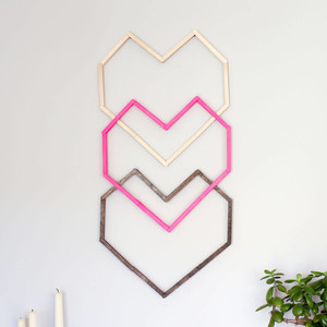 Handmade valentines day craft idea
