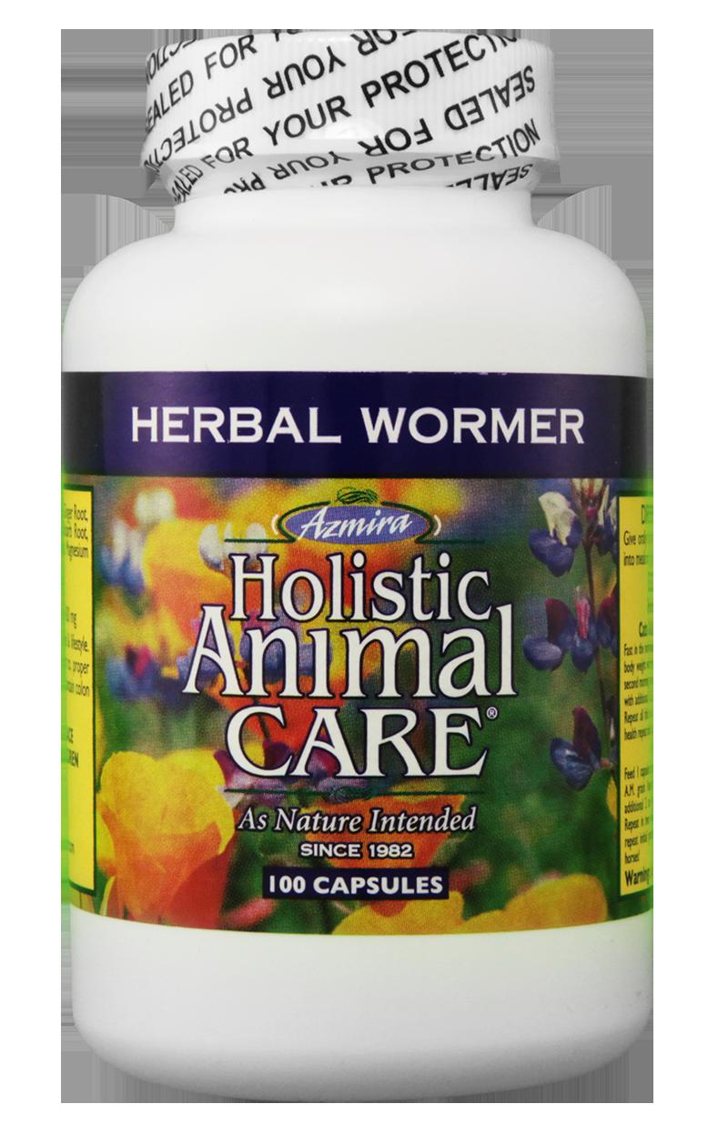 Herbal wormer