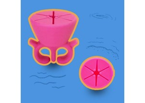 Nail holder pink