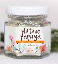 Mascarilla pl%c3%a1tano papaya
