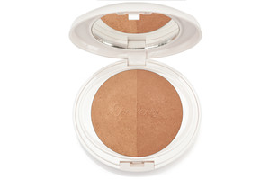 Pure rice powder bronzer bronze tones