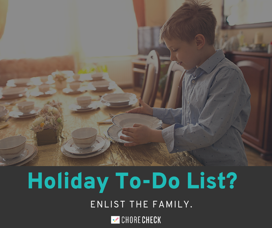 To Do List? Enlist the family!