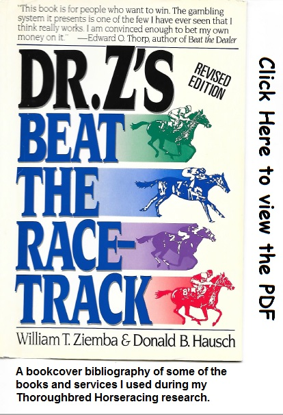 picture horseracing research bibliography