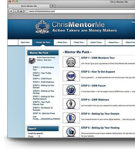 Chris Mentor Me Review