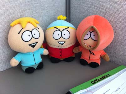 Butters has to be your favorite. Unless youre evil. Then it has to be Cartman.
