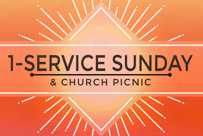 One-Service Sunday & Picnic