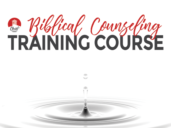 Biblical Counseling Training Course 2020