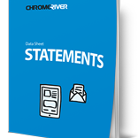 Chrome River STATEMENTS - Track expenses and then reconcile corporate card statements.