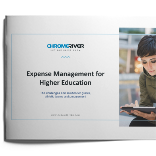 Expense Management for Higher Education