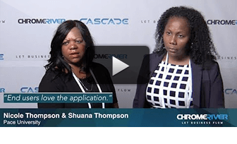 Asked at CASCADE 2018: How does Chrome River let business flow at your organization?