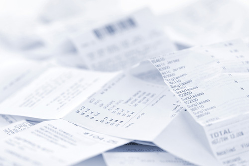 Could Your Paper Receipts Be a Health Hazard?