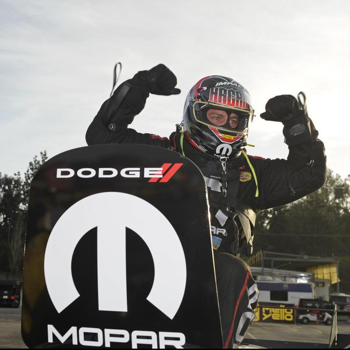 Mopar Express Lane Dodge Charger R T Funny Car driver Matt Hagan dominated  at the 58th Annual NHRA Winternationals f048202295790