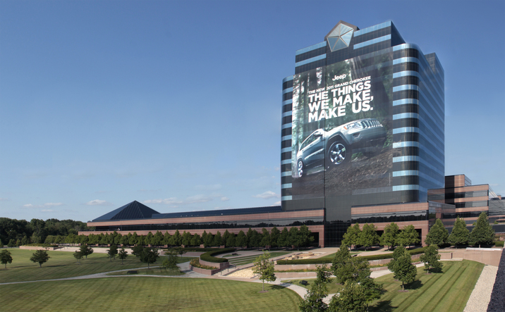 Fca Us Media Chrysler World Headquarters And Technology