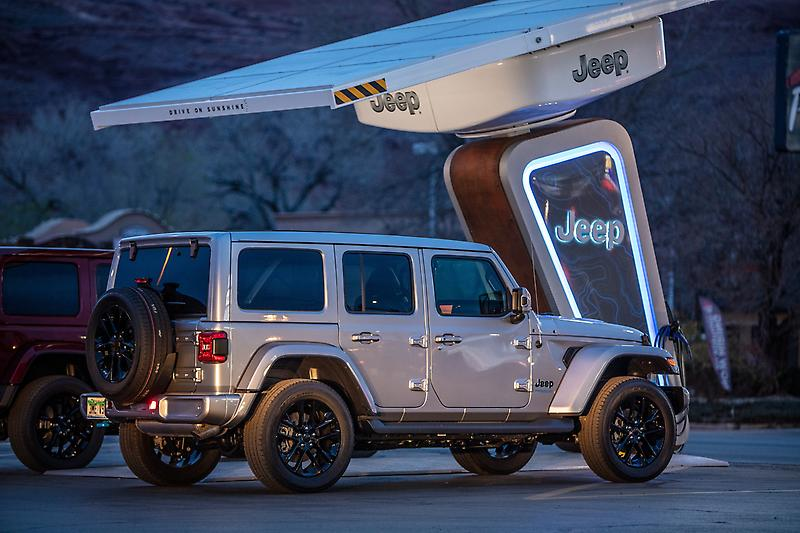 Electrify America and Jeep Brand Team Up at Moab