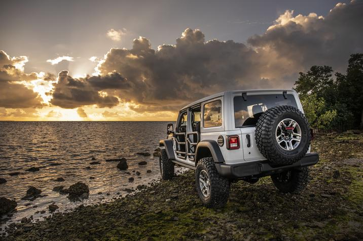 Tech Features of the Jeep Wrangler Unlimited
