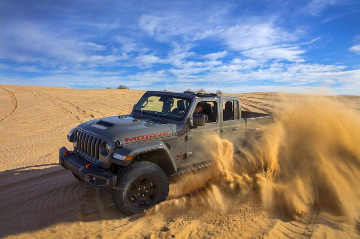 Jeep Gladiator Mojave Revealed