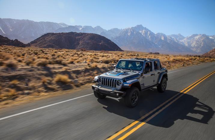 How Jeep electrifies the 4xe Wrangler