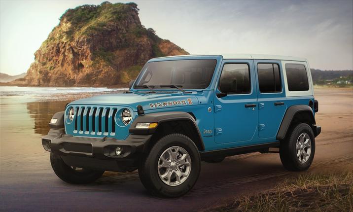 Jeep Wrangler Unlimited Capability