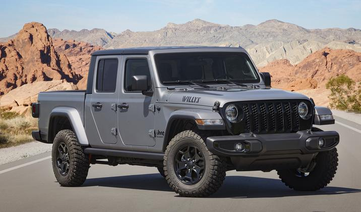 Jeep Gladiator Willys Debuts