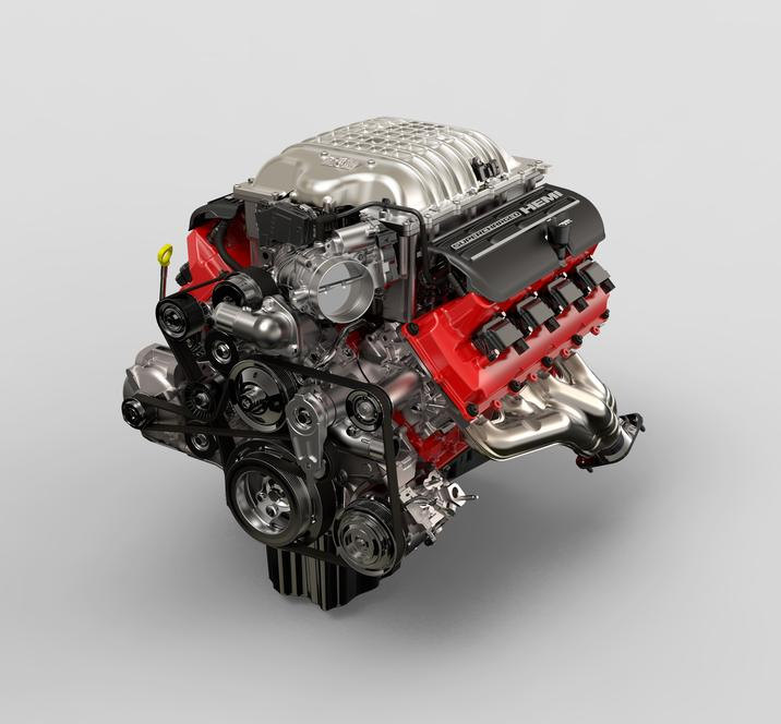 fca us media website the supercharged 6 2 liter hemi® demon v 8 in the 2018 dodge challenger srt demon is rated at 840 horsepower and 770 lb ft of torque w