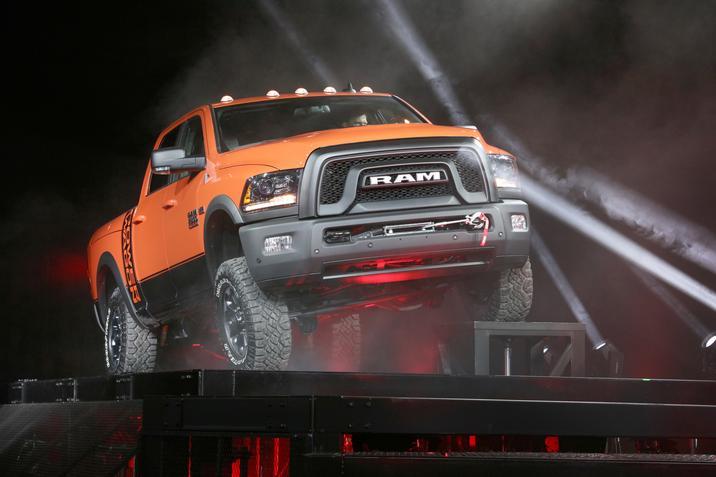 FCA US Media - Press Kit: 2017 Ram Power Wagon:New 2017 Ram Power