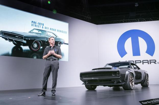FCA US Media - 'Hellephant' in the Room: Mopar Stampedes Into SEMA